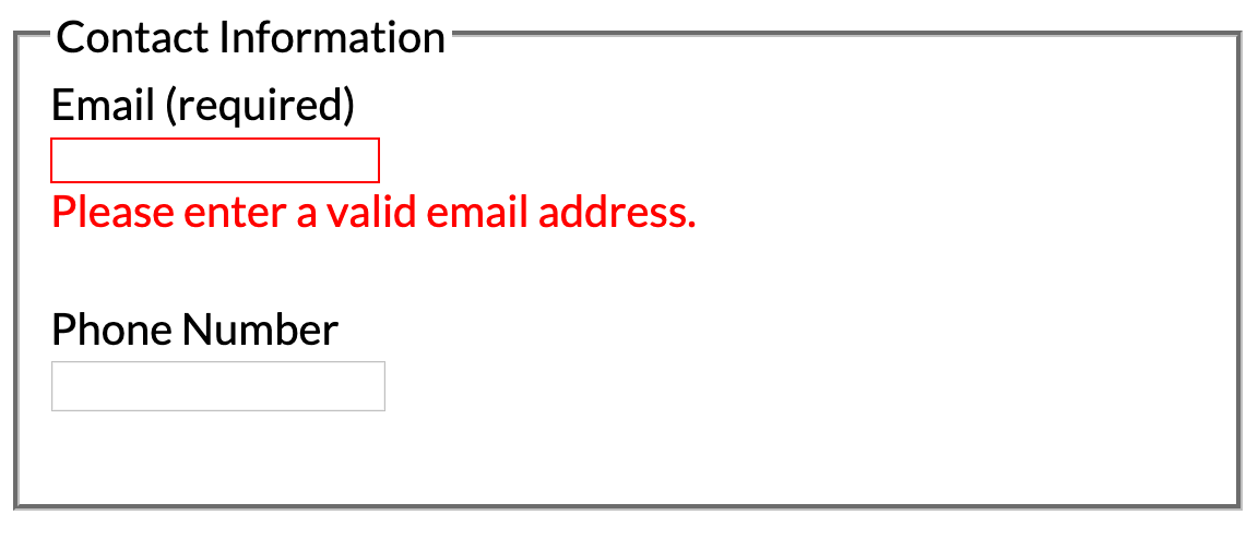 Accessible Inline Form Validation with Angular