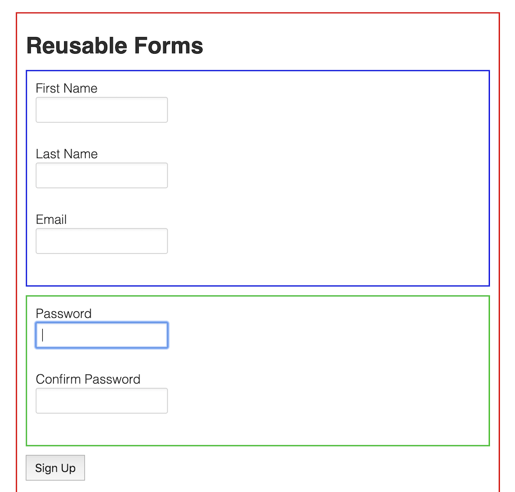 Building Reusable Forms in Angular