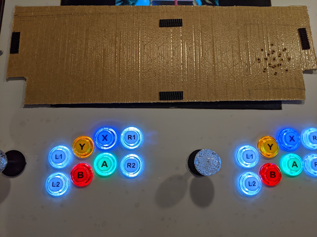 Arcade Table - Removable Service Cover