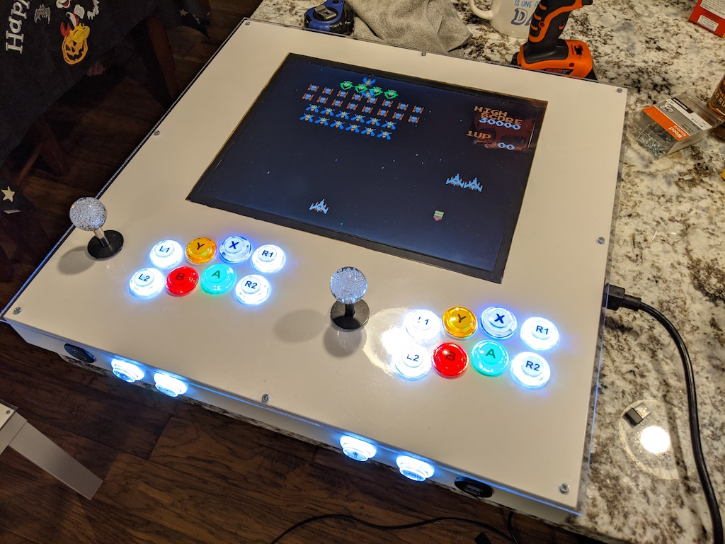 Arcade Table - Test before attaching legs