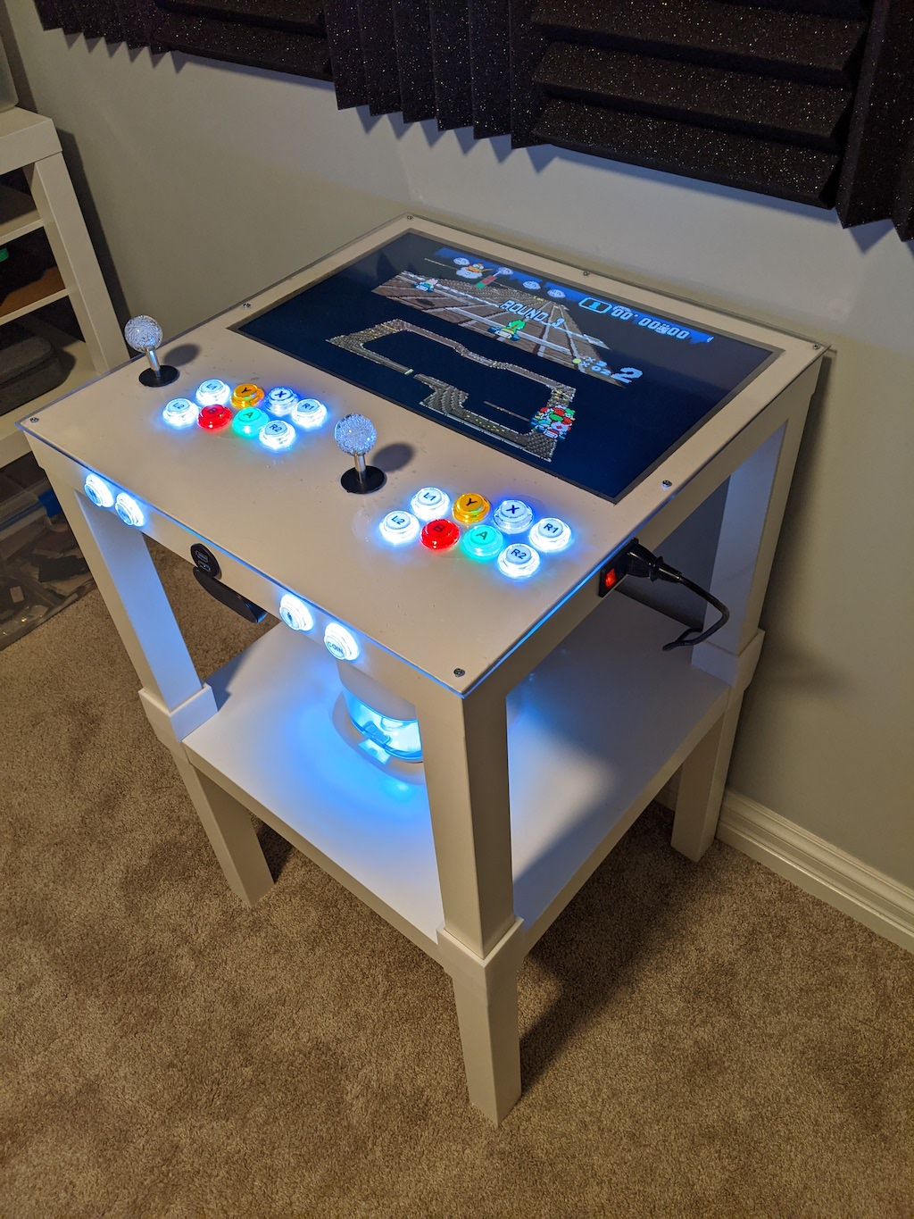 Arcade Table - Lack Stack Standing Height
